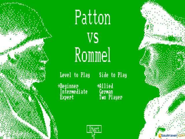 Patton vs Rommel - title cover
