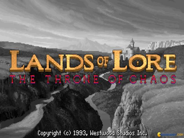 Lands of Lore: The Throne of Chaos - title cover
