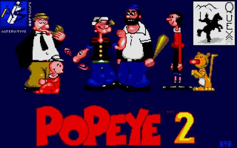 Popeye 2 - title cover