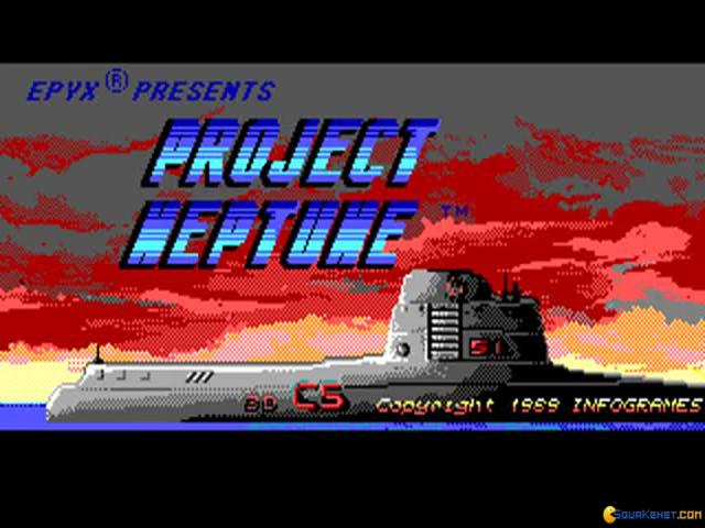 Project Neptune - title cover