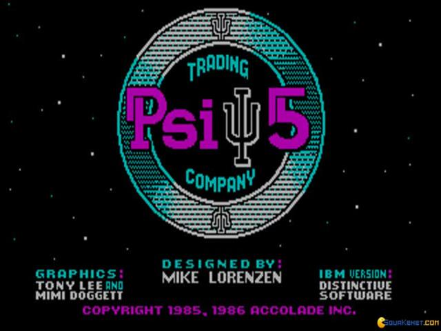 Psi 5 - title cover