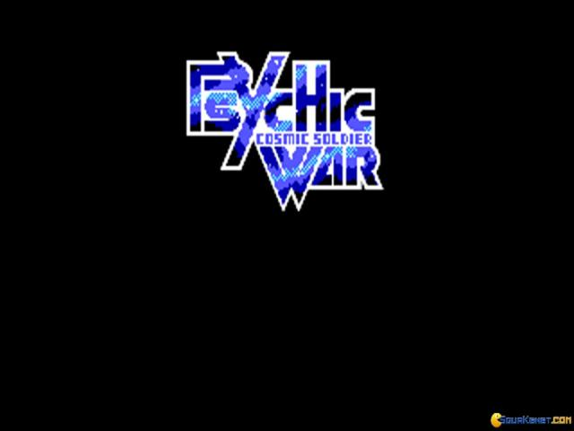 Psychic War - title cover