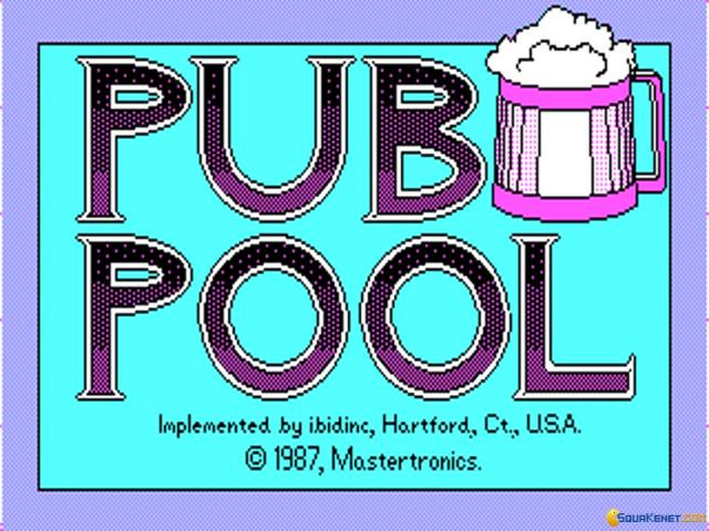 Pub Pool - game cover