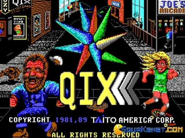 Qix - title cover