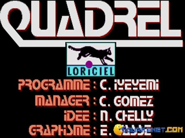 Quadrel - title cover