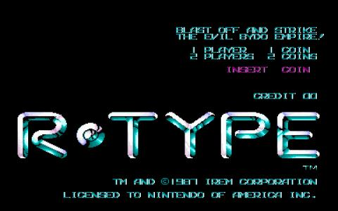 R Type - game cover
