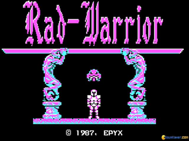 Rad Warrior - title cover
