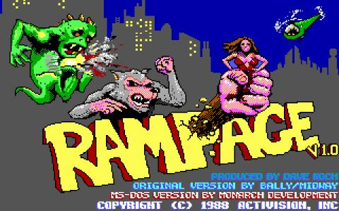 Rampage - game cover