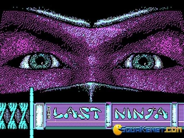 Last Ninja - game cover