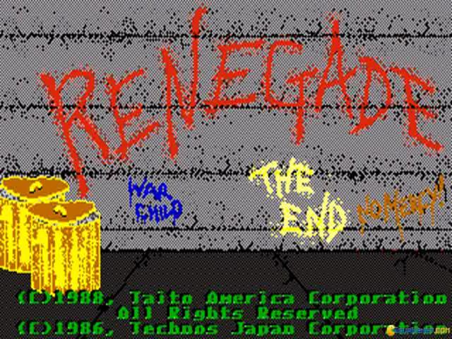 Renegade - game cover