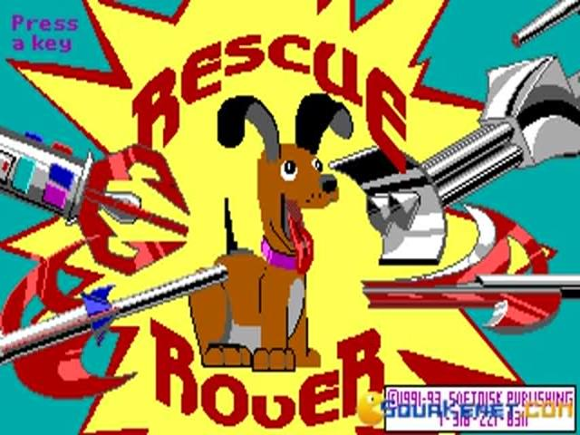 Rescue Rover - title cover