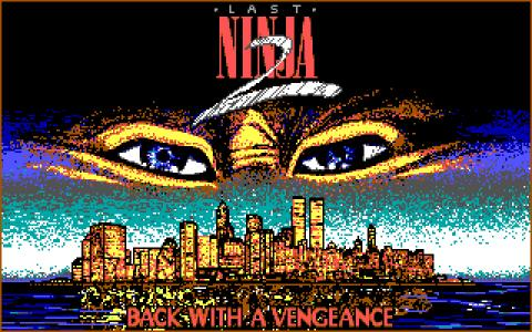 Last Ninja 2: Back with a Vengeance - game cover
