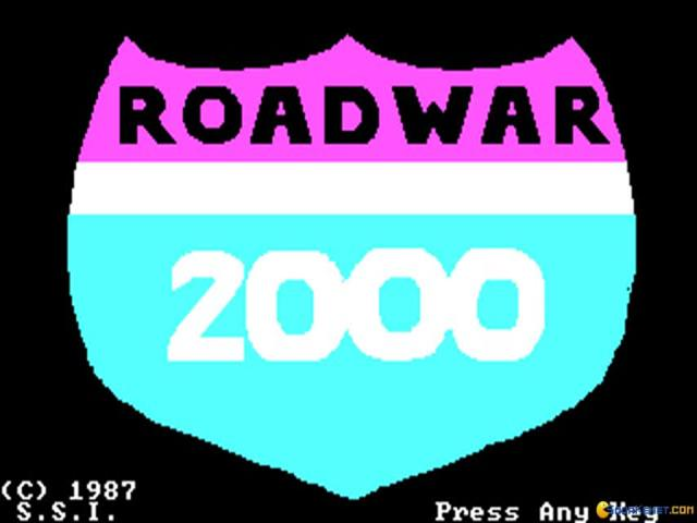 Roadwar 2000 - title cover