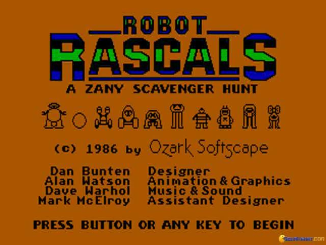 Robot Rascals - title cover