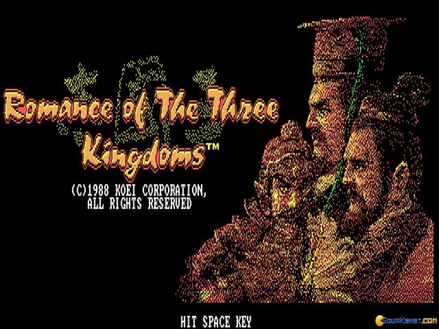 Romance of the Three Kingdoms - game cover