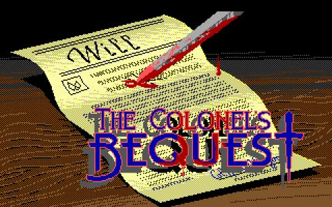 Laura Bow: Colonel's Bequest - title cover