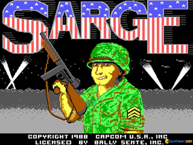 Sarge - title cover
