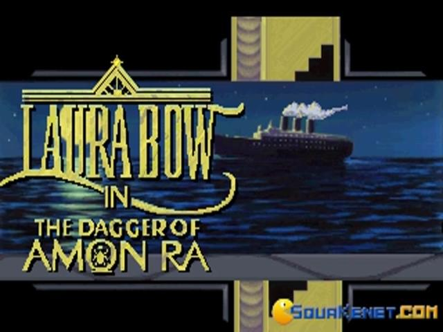 Laura Bow 2: the Dagger of Amon Ra - game cover