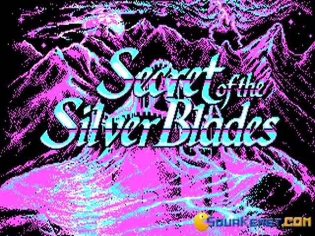 Secret of the Silverblades - title cover