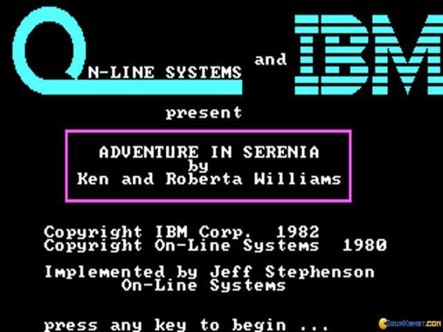 Serenia - title cover