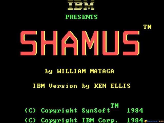 Shamus - title cover