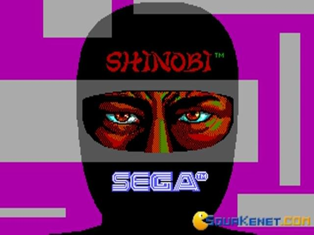 Shinobi - game cover