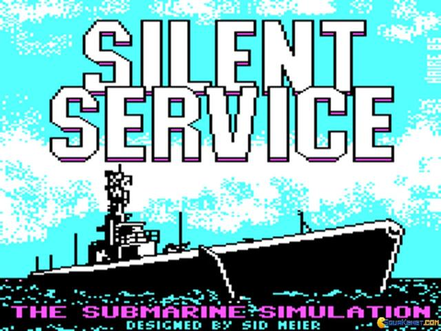 Silent Service - game cover