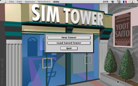 SimTower - title cover