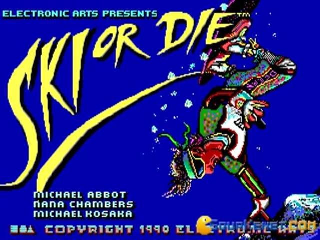 Ski or Die - title cover