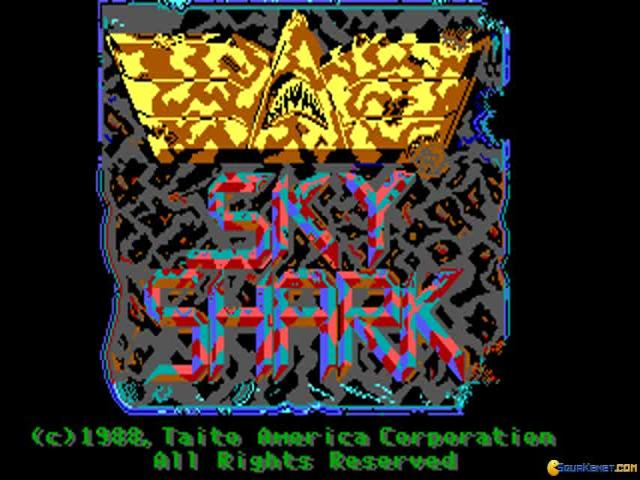 Sky Shark - title cover
