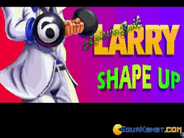 Leisure Suit Larry 6 - title cover