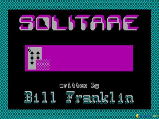Solitare - title cover