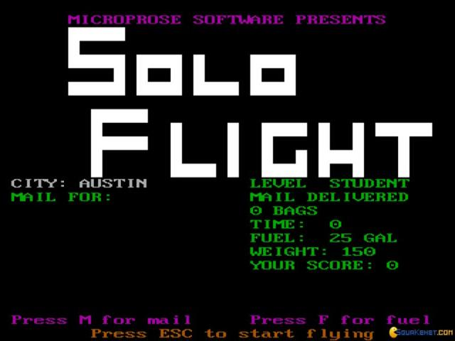 Solo Flight - title cover