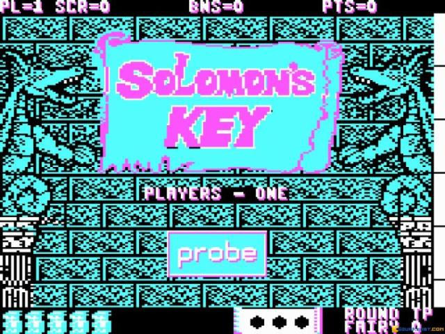 Solomon's Key - title cover