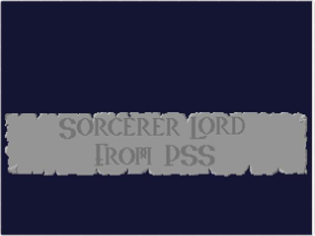 Sorcerer Lord - title cover