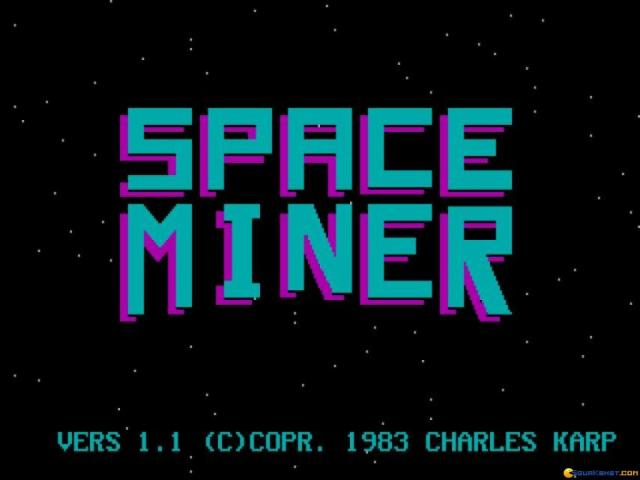 Space Miner - title cover