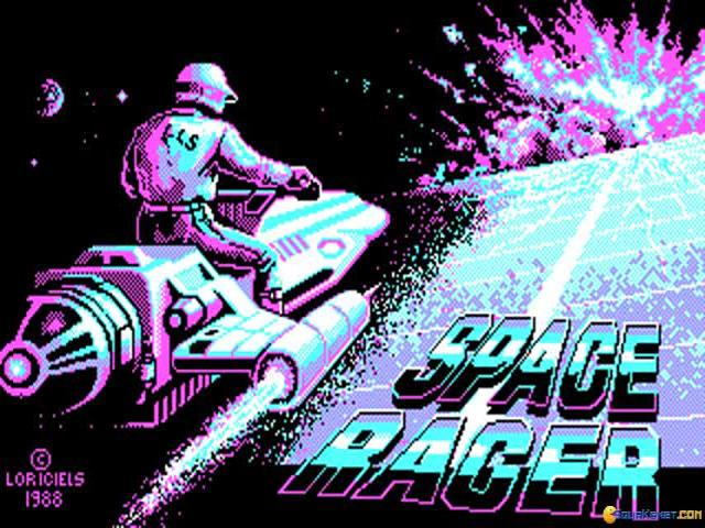Space Racer - game cover