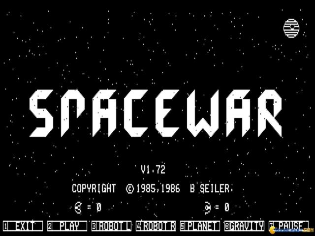 Space War - title cover