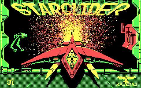 Star Glider - title cover