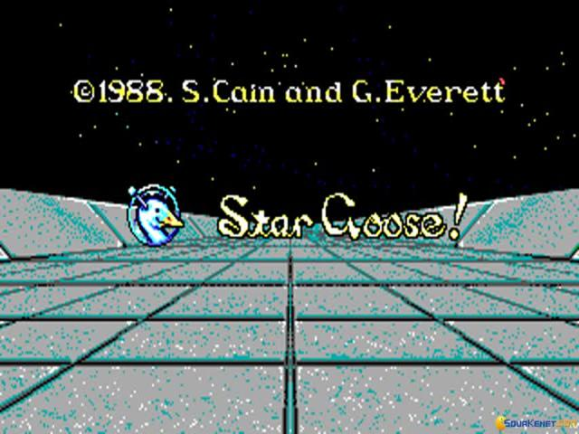 Star Goose - game cover