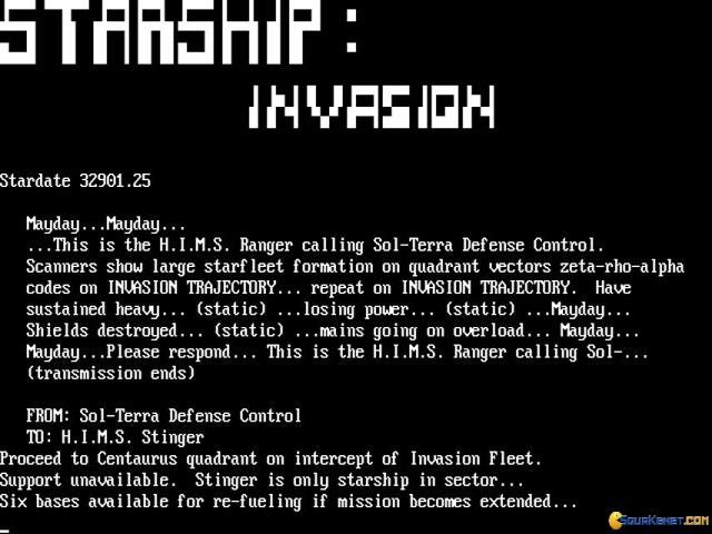 Starship Invasion - game cover