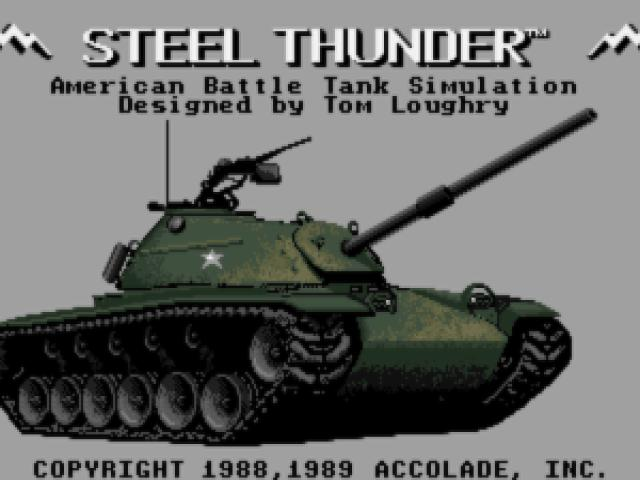 Steel Thunder - game cover
