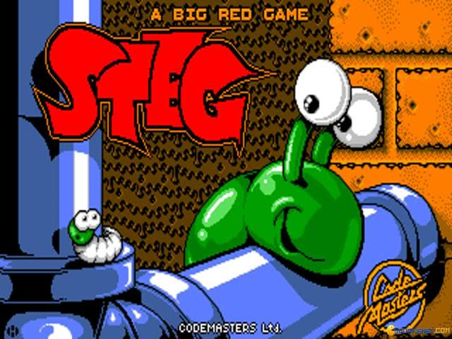 Steg the Slug - title cover
