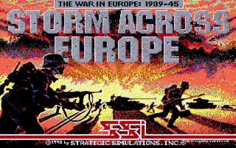 Storm Across Europe - game cover