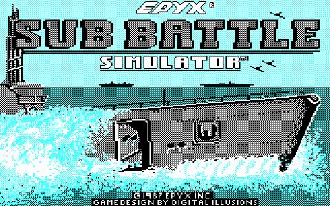 Sub Battle Simulator - game cover