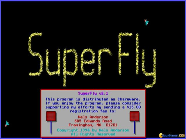 Super Fly - title cover