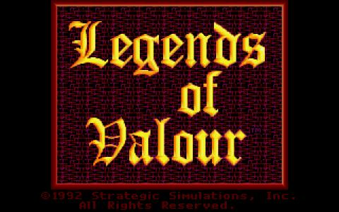 Legend of Valour - game cover