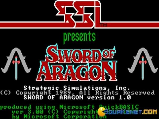 Sword of Aragon - game cover