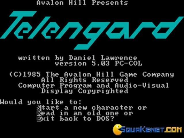 Telengard - game cover