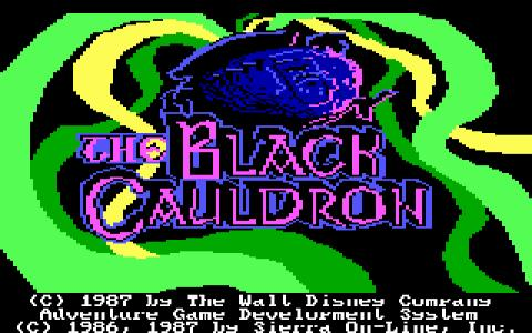 The Black Cauldron - game cover